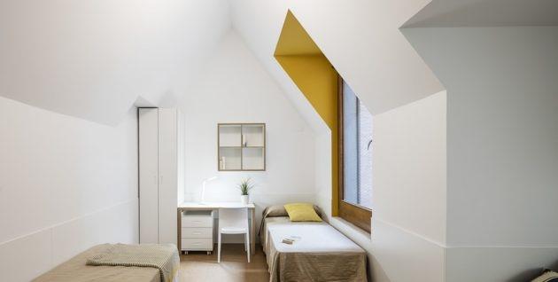 Habitacion alojamiento universitario en Barcelona centro