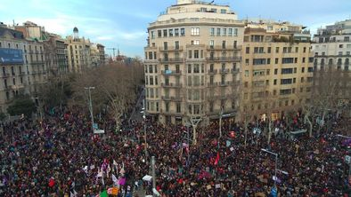 Manifestacio dia de la dona 1