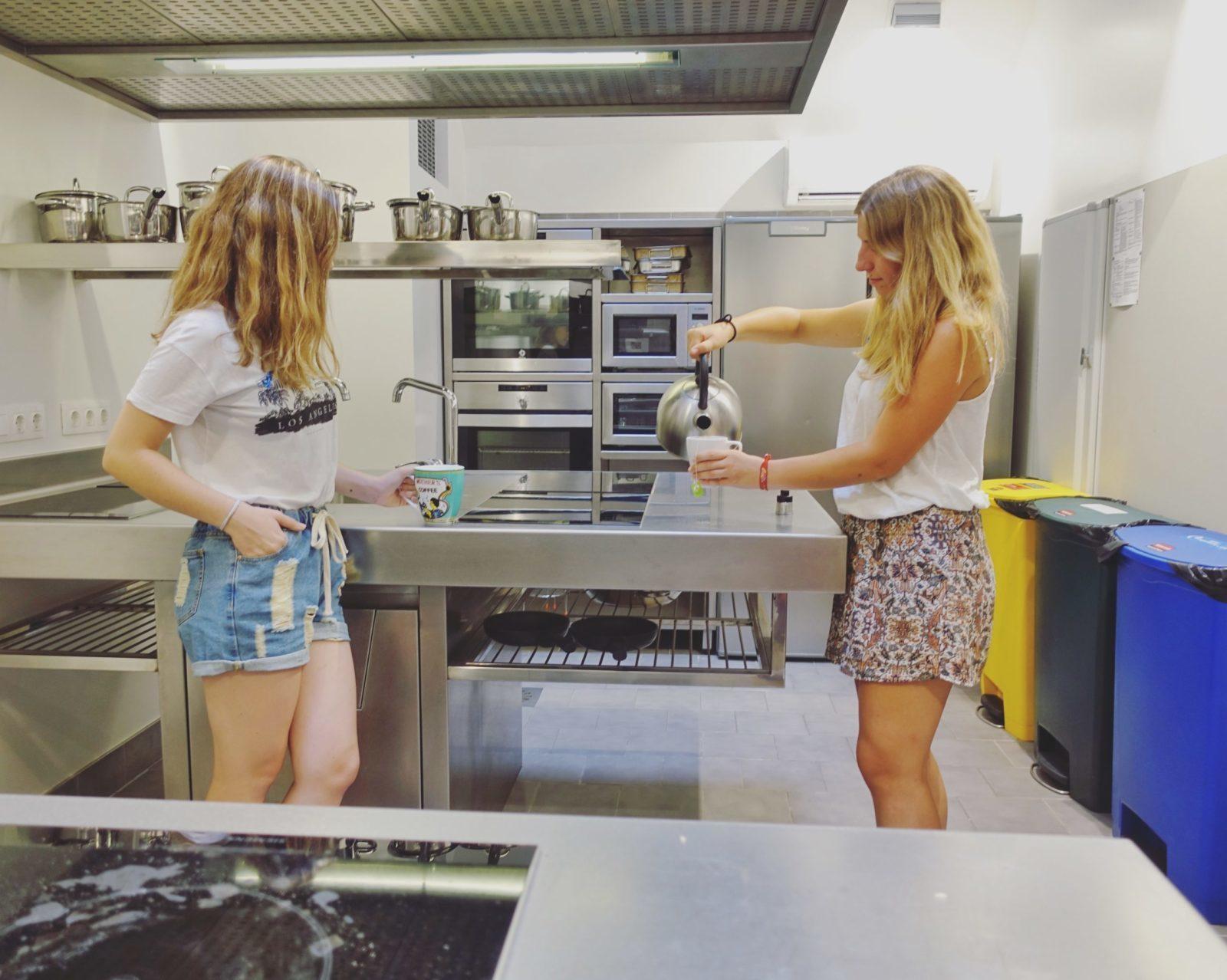 residències universitàries amb cuina a Barcelona
