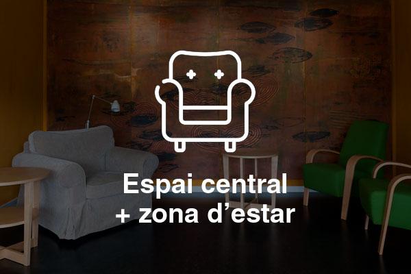 espai central zona estar