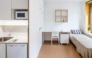 habitacion en residencia universitaria unihabit habitaciones residencias universitarias Unihabit 1