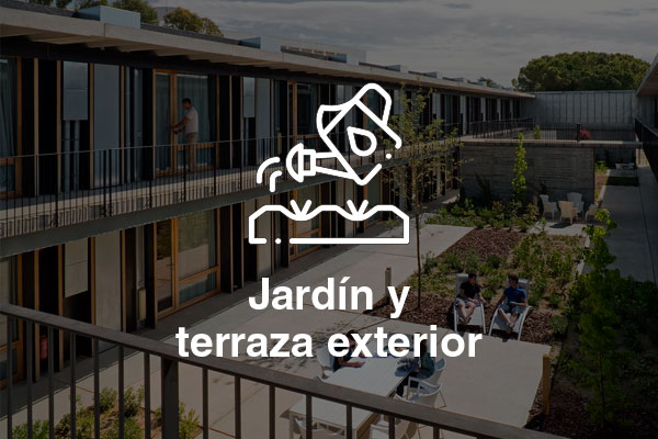 jardin terraza