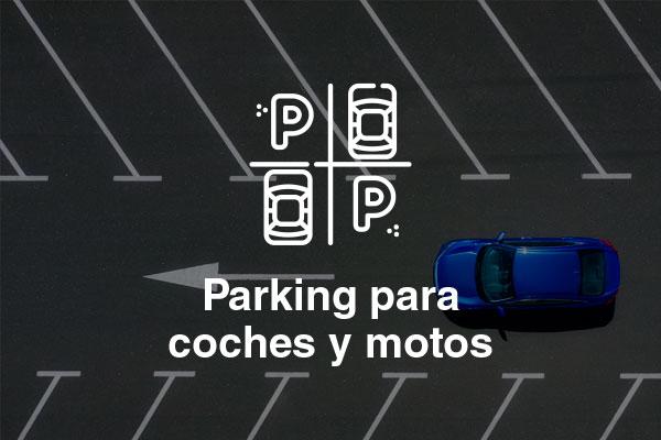 parking coches motos