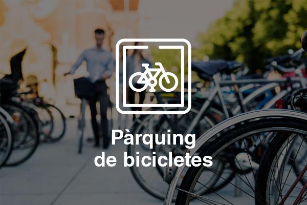 parquing bicicletes