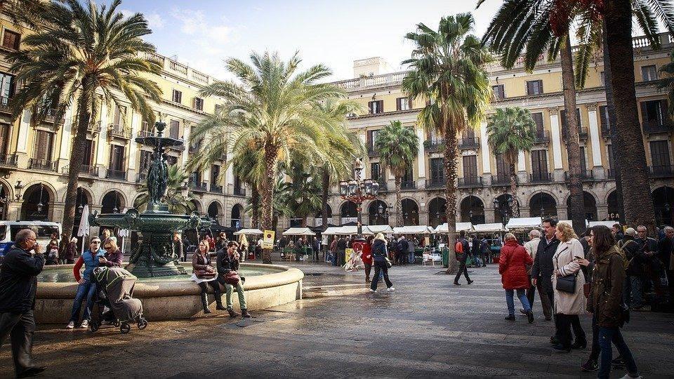 plaza de Barcelona plaza universitaria residencias unihabit 1