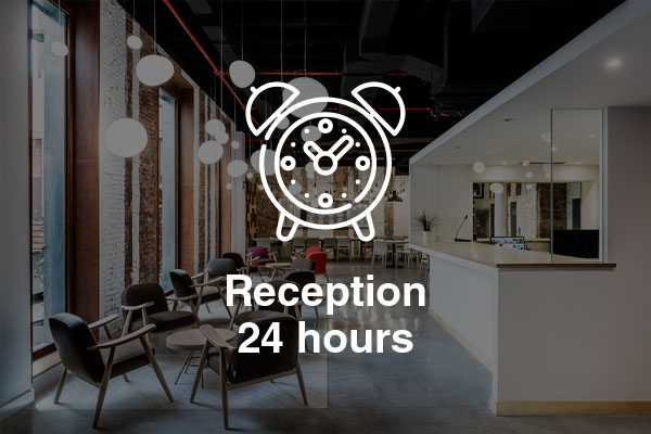 reception 24 hours
