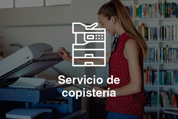 servicio copisteria