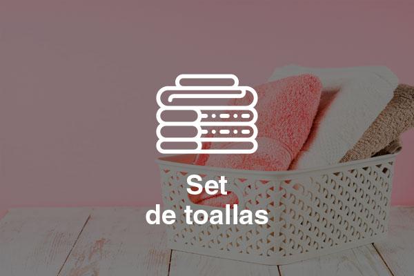 set toallas