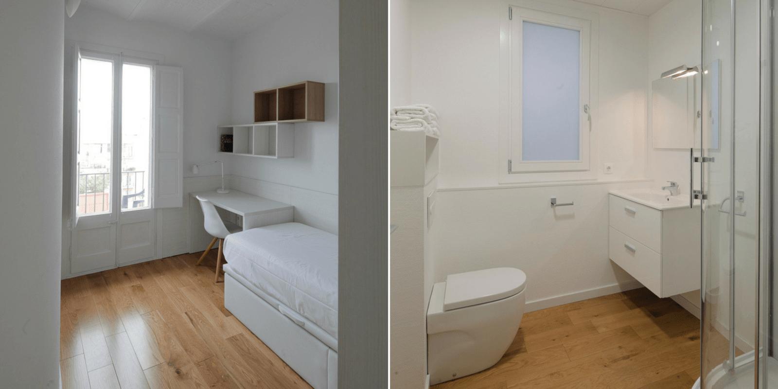 unihabit habitacions i lavabos