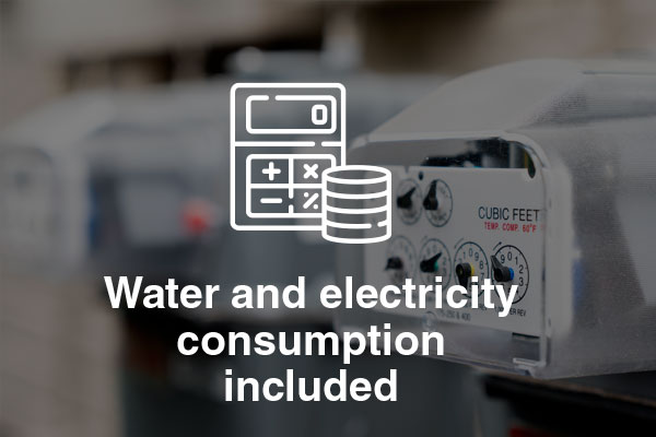 water electricity consumption